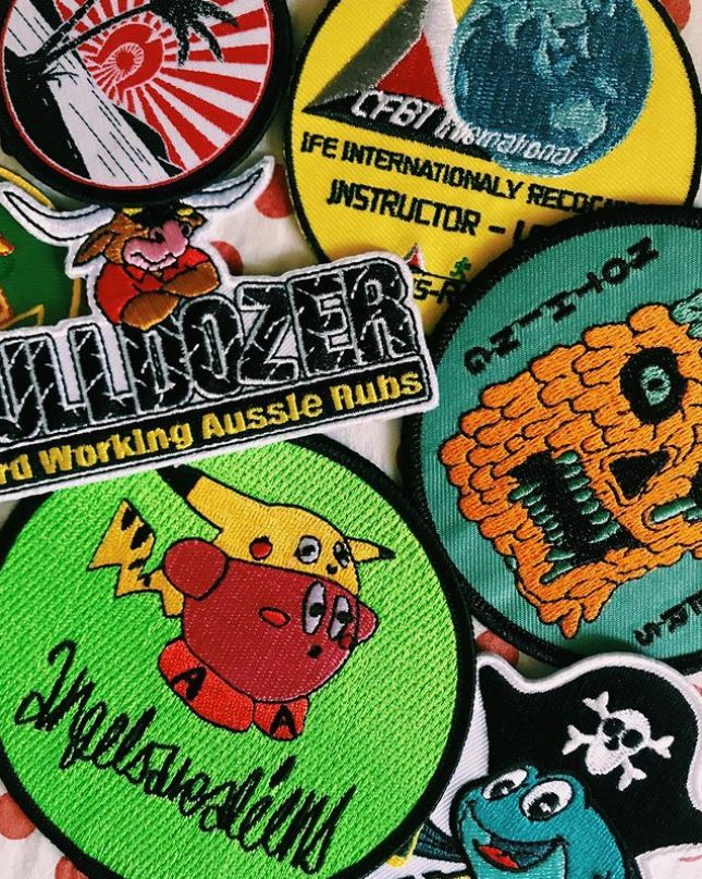 custom embrpidered patches